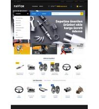 Araba Parçası Satış Sitesi Teması