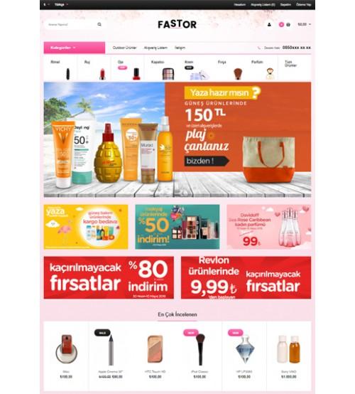 Kozmetik Market Teması