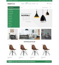 Opencart Masa & Sandalye Teması