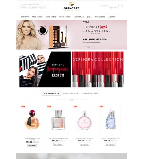 Parfüm-Kozmetik Tema