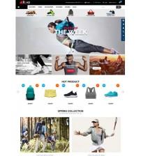 Opencart Spor - Outdoor Ürünleri Satış Teması