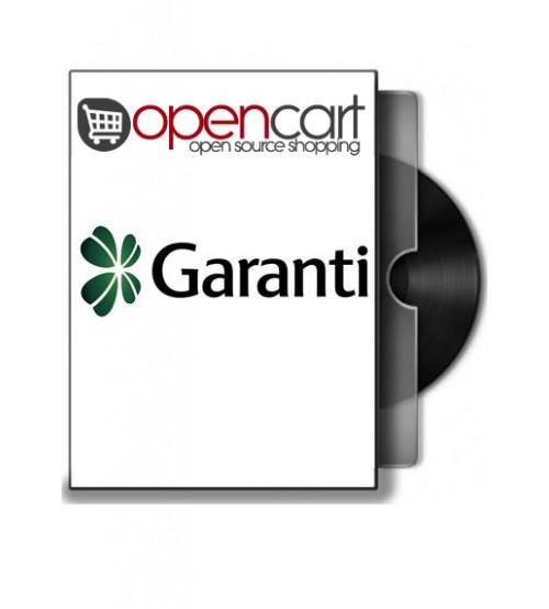 Opencart Sanal Pos - Garanti Sanal Pos Modülü